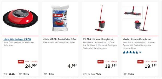 Vileda ViROBI Wischroboter als LIDL-Angebot ab 12.10.2015 für 24,99 €
