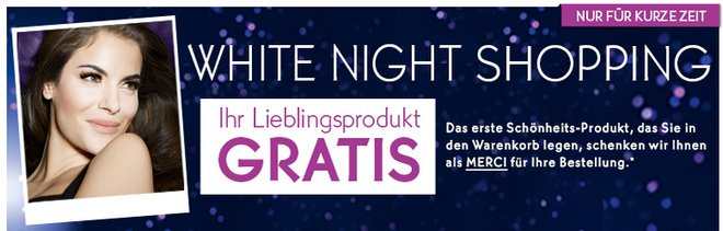 Yves Rocher White Night Aktion