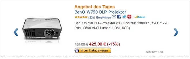 Amazon Angebot des Tages vom 4. Novemver 2013