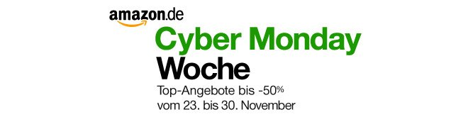 Amazon Cyber Monday Woche 2012