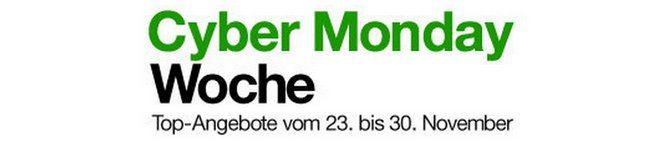 Amazon Cyber Monday Woche 2013