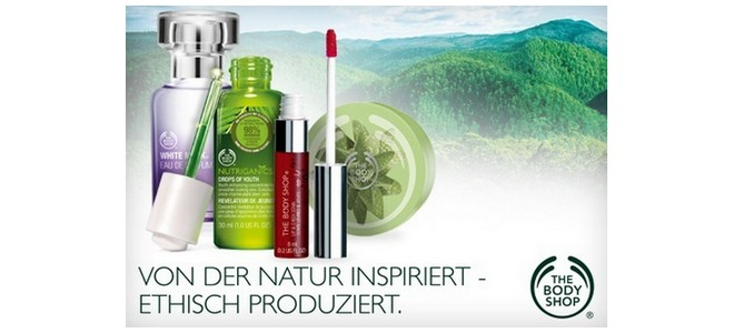 The Body Shop-Gutschein bei Groupon