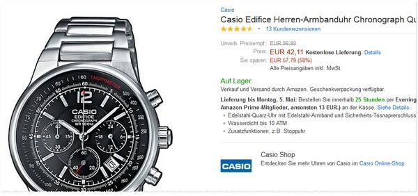 Casio Edifice EF-500D-1AVEF
