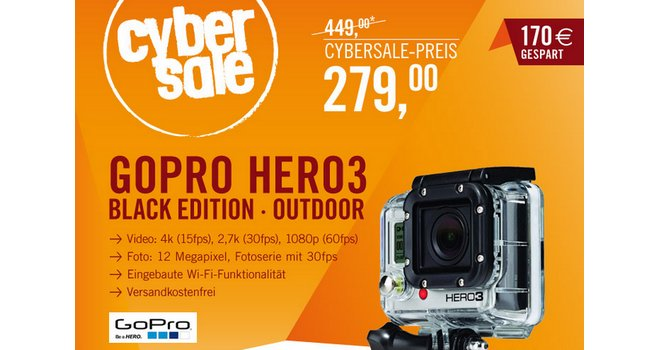 GoPro Hero3 Black Edition Outdoor