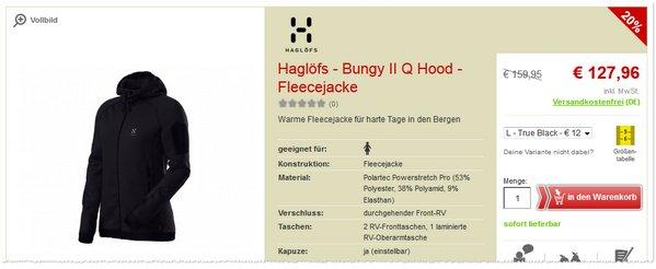 Haglöfs Bungy II Q Hood