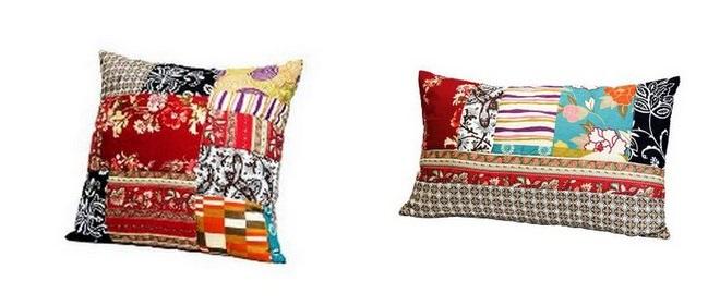 Kare design patchwork dekokissen f r 9 99 pro kissen bei ebay - Kare design outlet ...