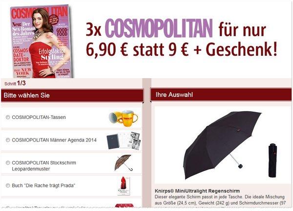 Knirps MiniUltraLight Regenschirm als Abo-Prämie