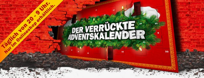 Media Markt verrückte Adventskalender