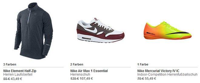 Nike Sonderangebote