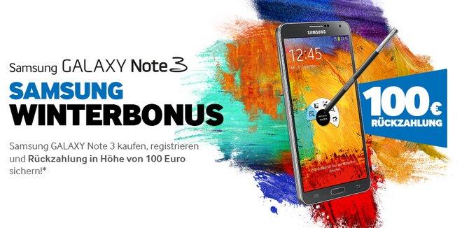 Samsung Galaxy Note 3 Winterbonus