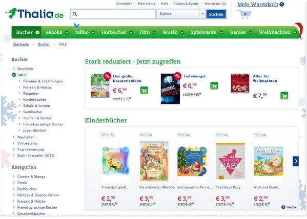 Thalia Bücher Sale