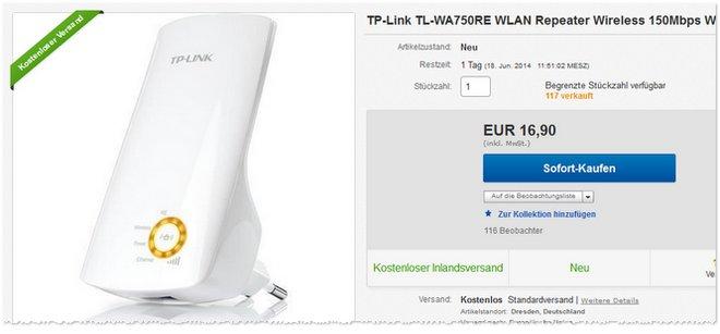 TP-Link TL-WA750RE günstiger