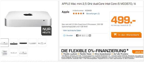 Apple Mac mini Preis bei Saturn