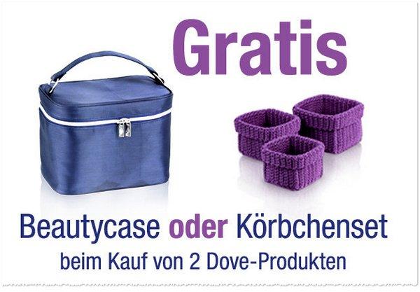 Dove Beautycase gratis