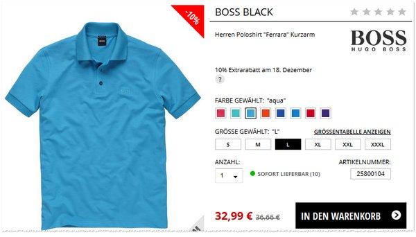 Boss Polo-Hemden bei Engelhorn