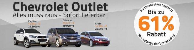 Chevrolet Lagerverkauf