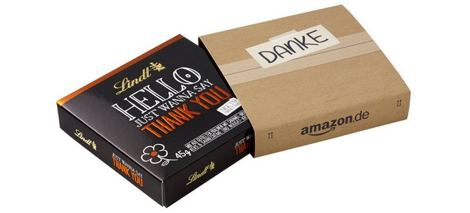 Danke lieber Nachbar Aktion bei Amazon