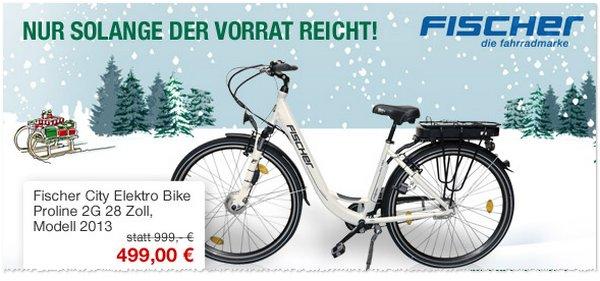 Fischer City Elektro Bike Proline 2G