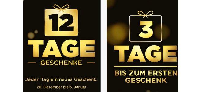 iTunes 12 Tage Geschenke-App