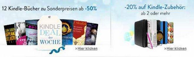 Kindle Bücher Sonderpreis