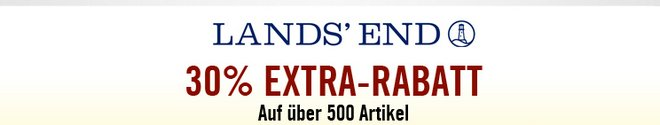 Lands End Extra-Rabatt