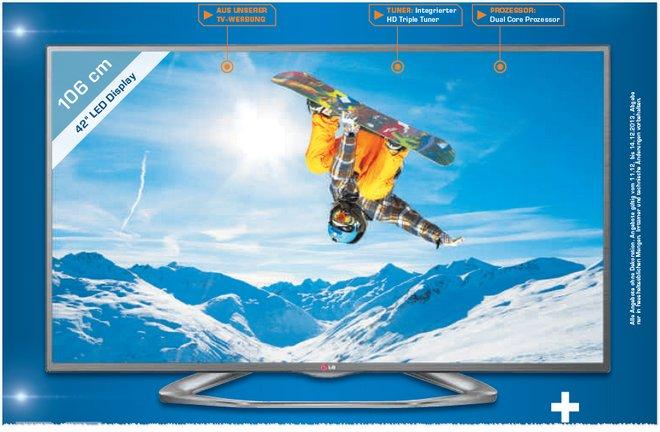 LG 42LA6208 Saturn TV Werbung
