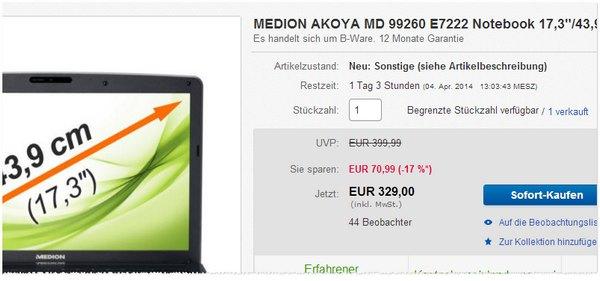 Medion MD99260 E7222