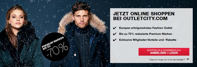 Outletcity Metzingen Winter-Sale