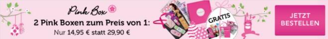 Pink Box 2für1-Aktion ohne Gutschein