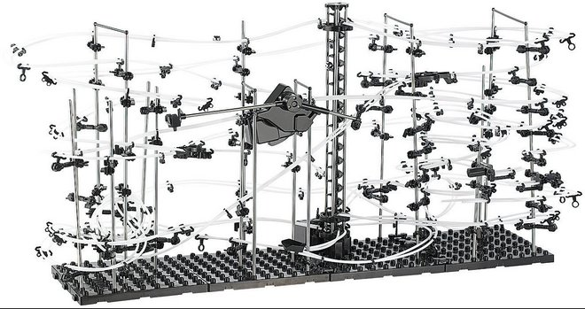 Playtastic Kugel-Achterbahn