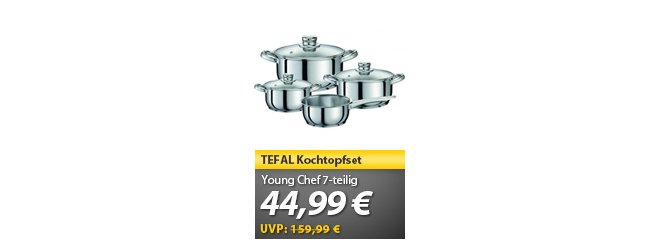Tefal Young Chef Kochtopfset