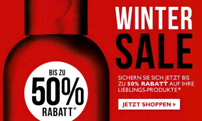 The Body Shop Winter-Sale
