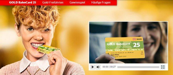 Gold BahnCard 25