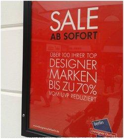 Designer Outlet Berlin Angebote