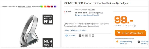 Monster DNA On-Ear-Kopfhörer