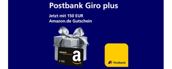 Postbank Aktion Amazon