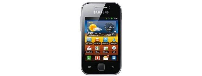 Samsung Galaxy Y ohne Vertrag