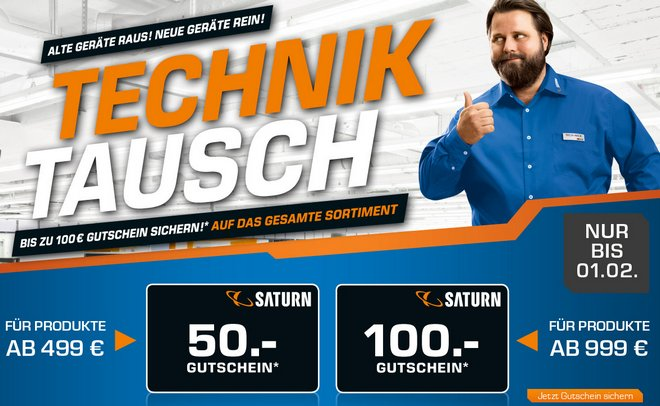 Saturn Technik Tausch