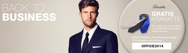 Seidenfalter Krawatte gratis