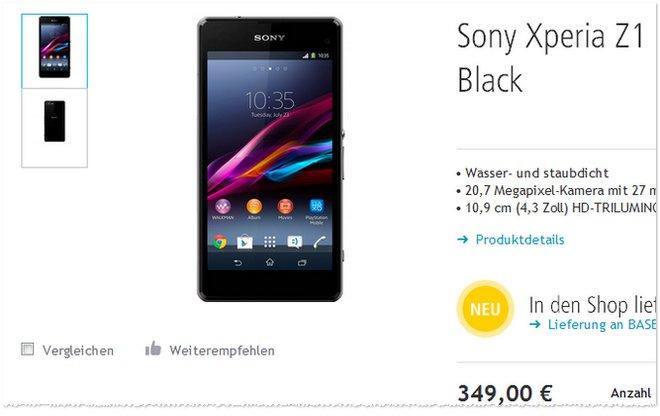 Sony Xperia Z1 Compact ohne Vertrag