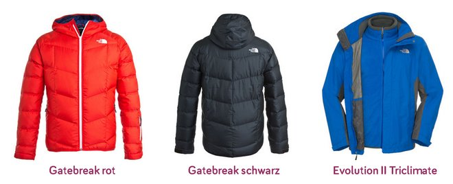 The North Face Jacken günstig kaufen