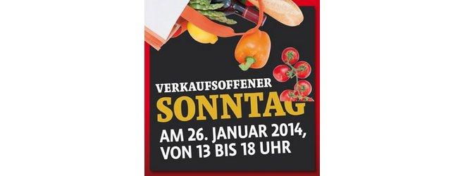 Verkaufsoffener Sonntag Kaisers 26.1.2014