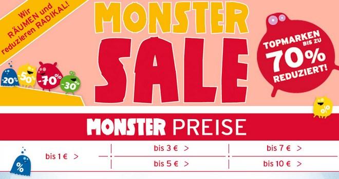 Baby Walz Monster-Sale