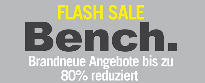 Bench Flash Sale