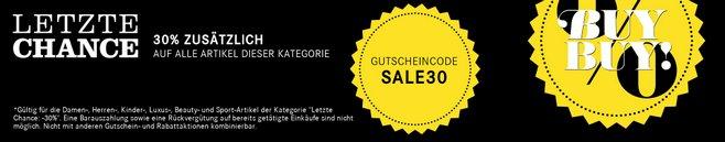 Breuninger-Sale Gutschein