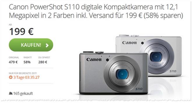 Canon PowerShot S110 Angebot
