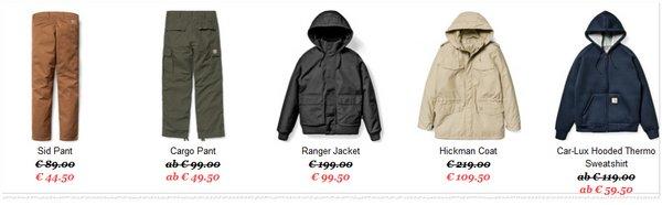 Carhartt Sale Angebote