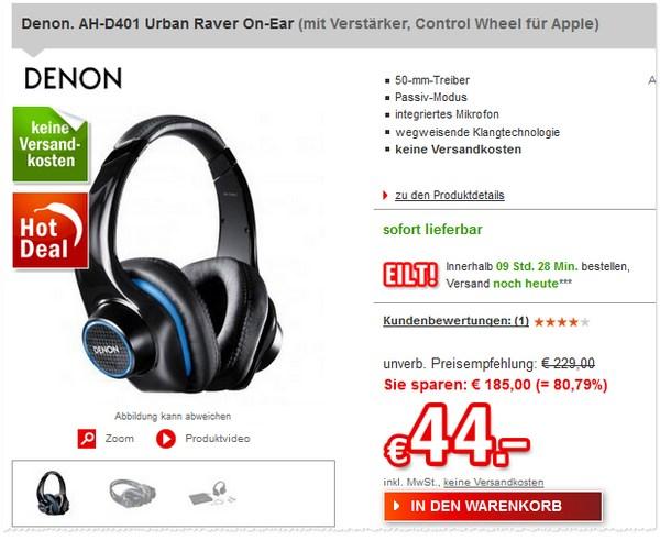 Denon AH D401 Urban Raver kaufen