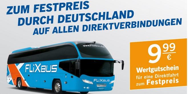 Flixbus Gutschein bei LIDL