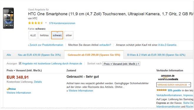 HTC One 16GB B-Ware